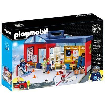 Playmobil 9293 NHL Take Along Arena - 71 Pieces