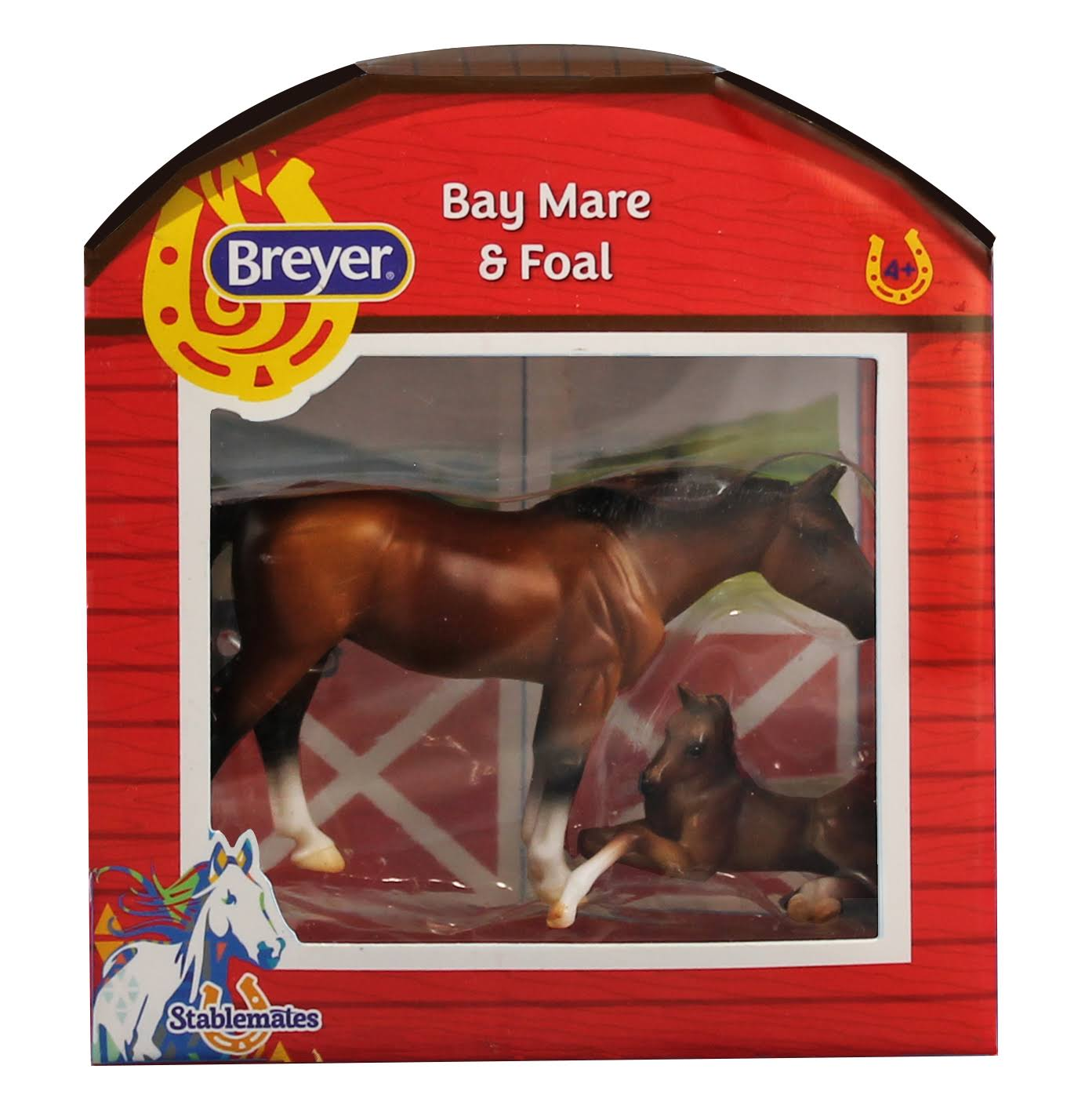 Breyer Horses Stablemates Horse and Foal Set