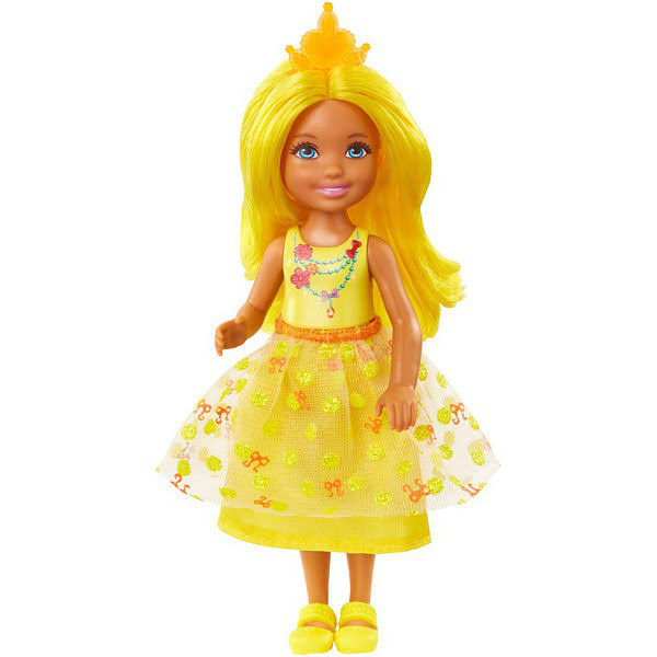 Barbie Dreamtopia Rainbow Cove Sprite Doll - Yellow
