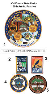 Pumpkin Patch Bakersfield California by California State Parks 150th Anniversary Patch Ranger Logo Patch