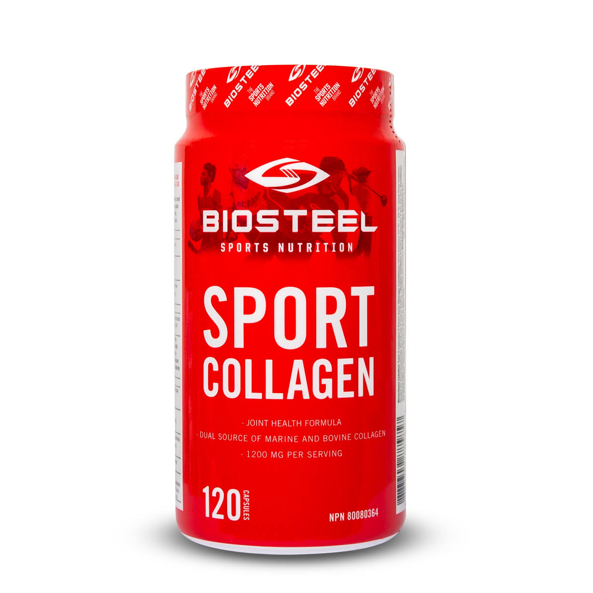 BioSteel Sport Collagen Capsules for Joint Health - 120ct