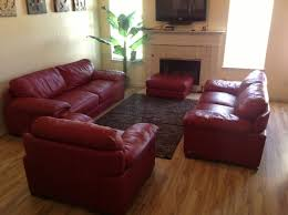 Chateau Dax Leather Sofa Macys by Red Cindycrawford Home Leather Couch Set Youtube