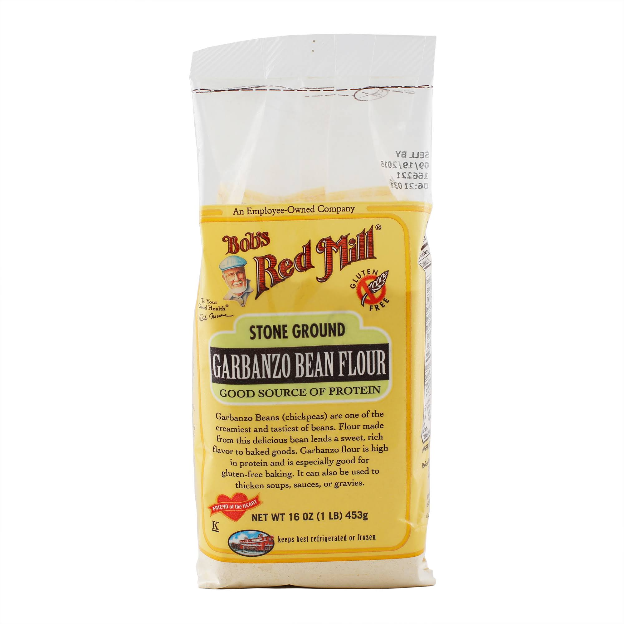 Bob's Red Mill Stone Ground Flour - Garbanzo Bean, 12oz