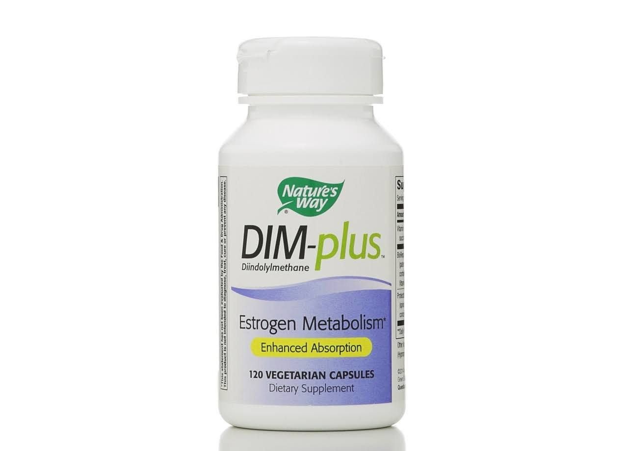 Nature's Way DIM-plus Estrogen Metabolism Formula - 120 ct