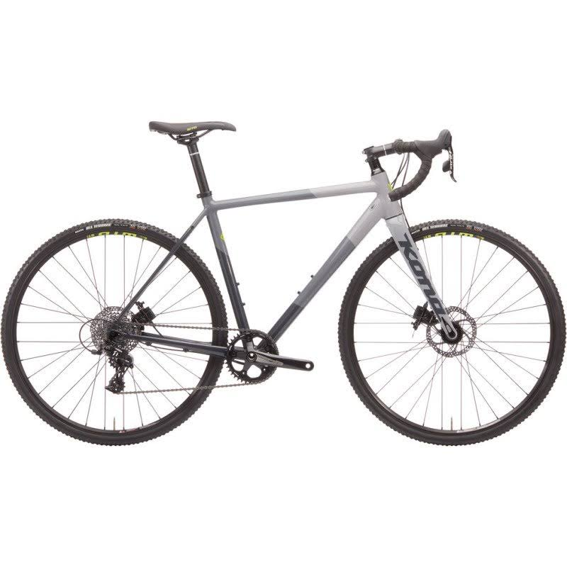Kona Jake The Snake 2020 Gloss Charcoal/Gray/Chalk 54cm