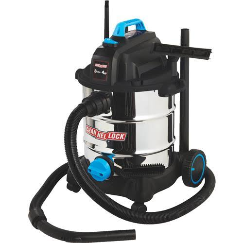 Channellock Wet Dry Vacuum - 30.3L, Stainless Steel