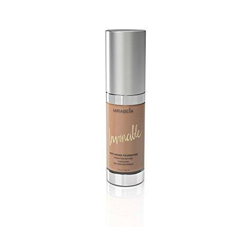 Mirabella Invincible Anti-Aging Full Coverage HD Liquid Foundation - Medium