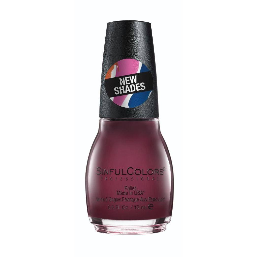 SinfulColors Professional Nail Polish, Raisin the Roof 2542 - 0.5 fl oz