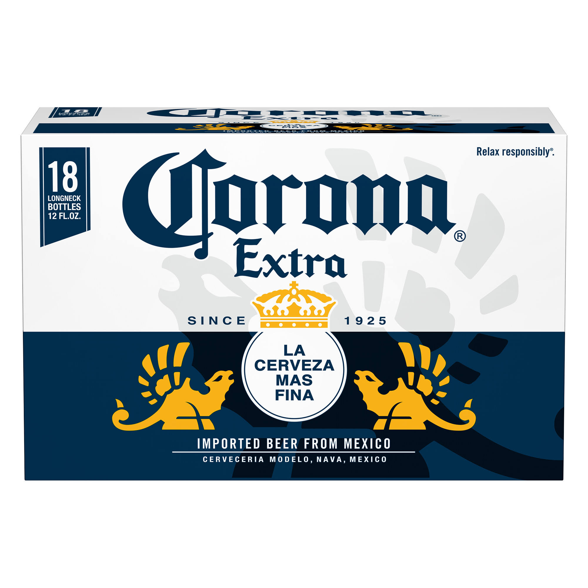 Corona Extra Beer, Legend Champions - 18 pack, 12 fl oz bottles