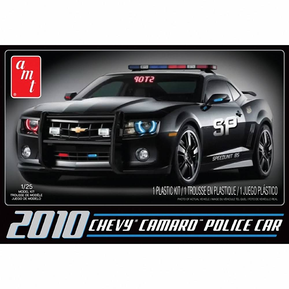 Camaro Police Model Car - 1/25 scale