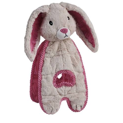 Charming Pet Products CQ00001 Cuddle Tug Dog Toy - Bunny