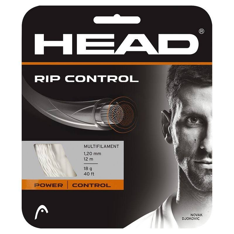 Head Rip Control Tennis String - Natural, 16g, 12m x 1.3mm