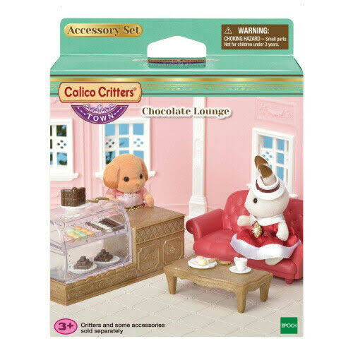 Calico Critters Town Series Dollhouse Miniature - Chocolate Lounge