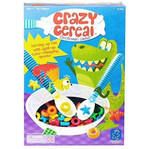 Educational Insights 3445 Crazy Cereal Electronic Game