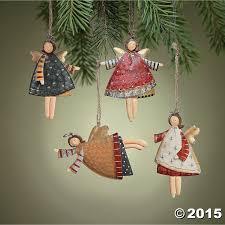 Christmas Tree Amazon Prime by Amazon Com Lot Of 12 Dancing Tin Angels Christmas Tree Ornaments