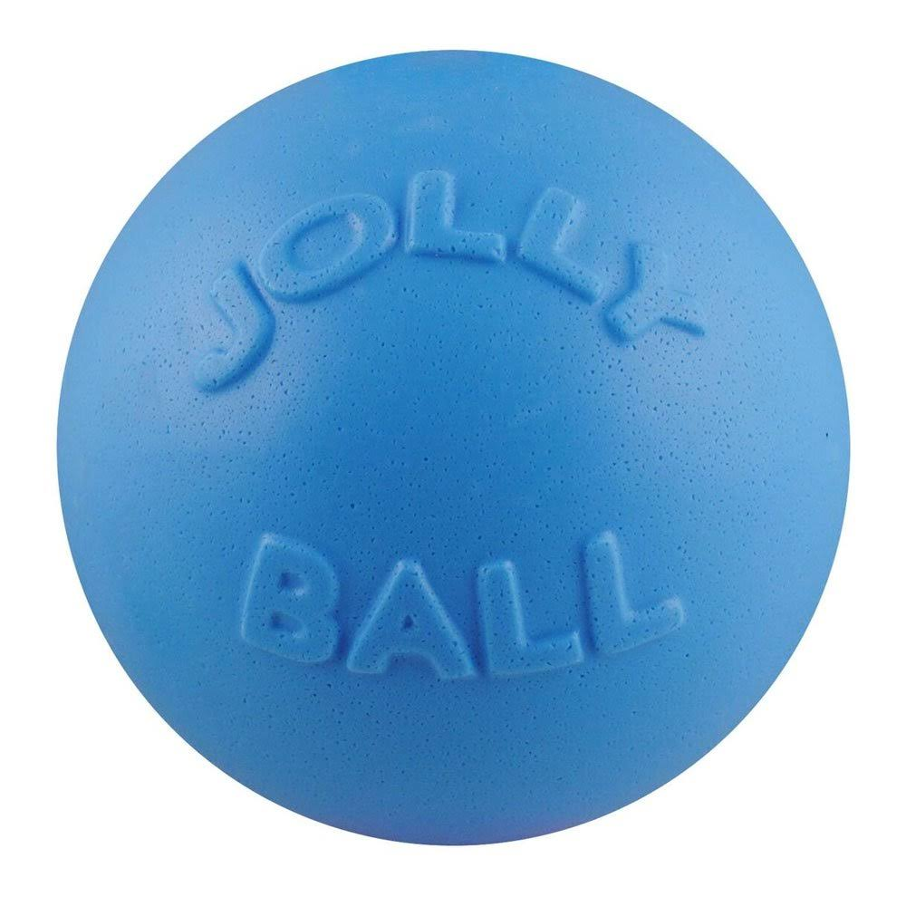 Jolly Bounce-N-Play Dog Toy - 6in, Blueberry Floats, Non Toxic Scents