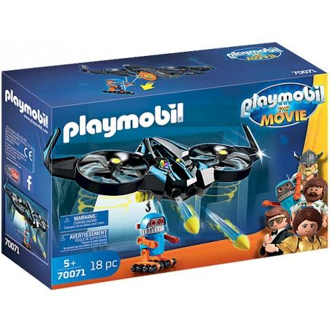 Playmobil The Movie Robotitron with Drone Playset - 18pcs