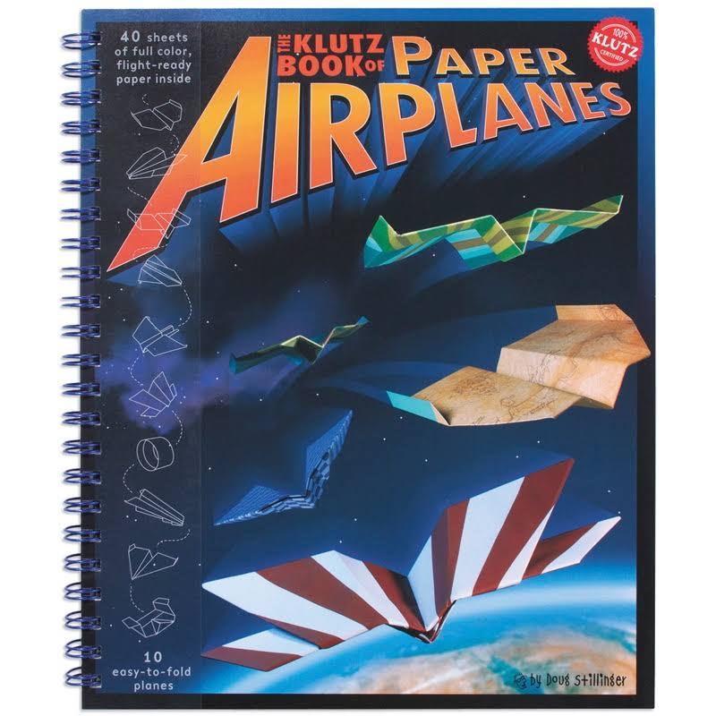 Klutz Paper Airplanes - 18 Easy-To-Fold Planes