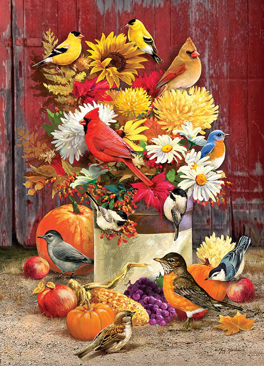 Outset Media OM80183 Autumn Bouquet 1000 PC Puzzle
