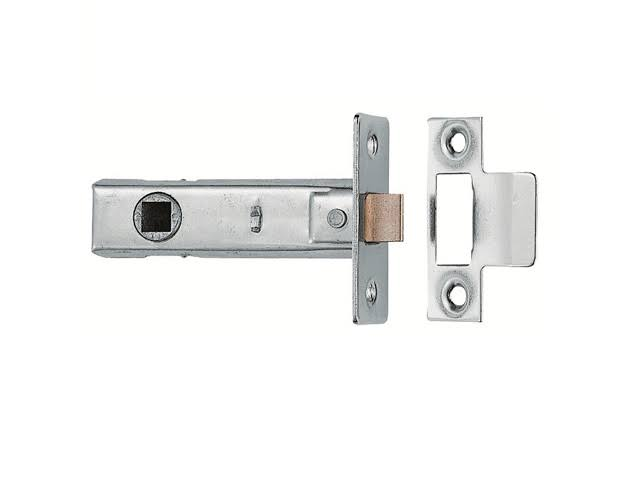 Carlisle Brass Tubular Mortice Latch Polished Nickel - 75mm