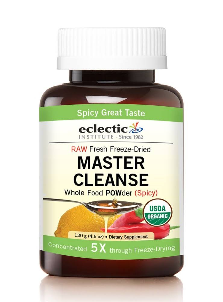 Eclectic Institute Master Cleanse Whole Food Powder Supplement - 130g
