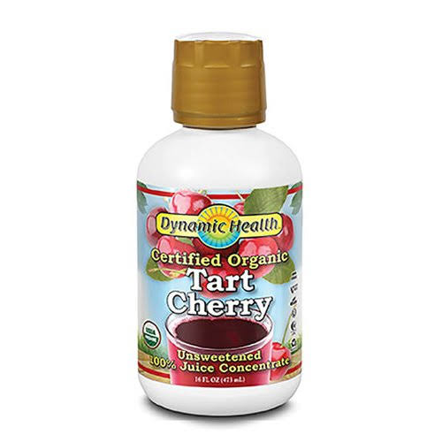 Dynamic Health Certified Organic Tart Cherry Juice Concentrate - 16oz