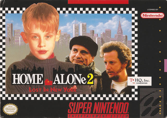 Home Alone 2 Lost In New York, 1992 [Super Nintendo Game]