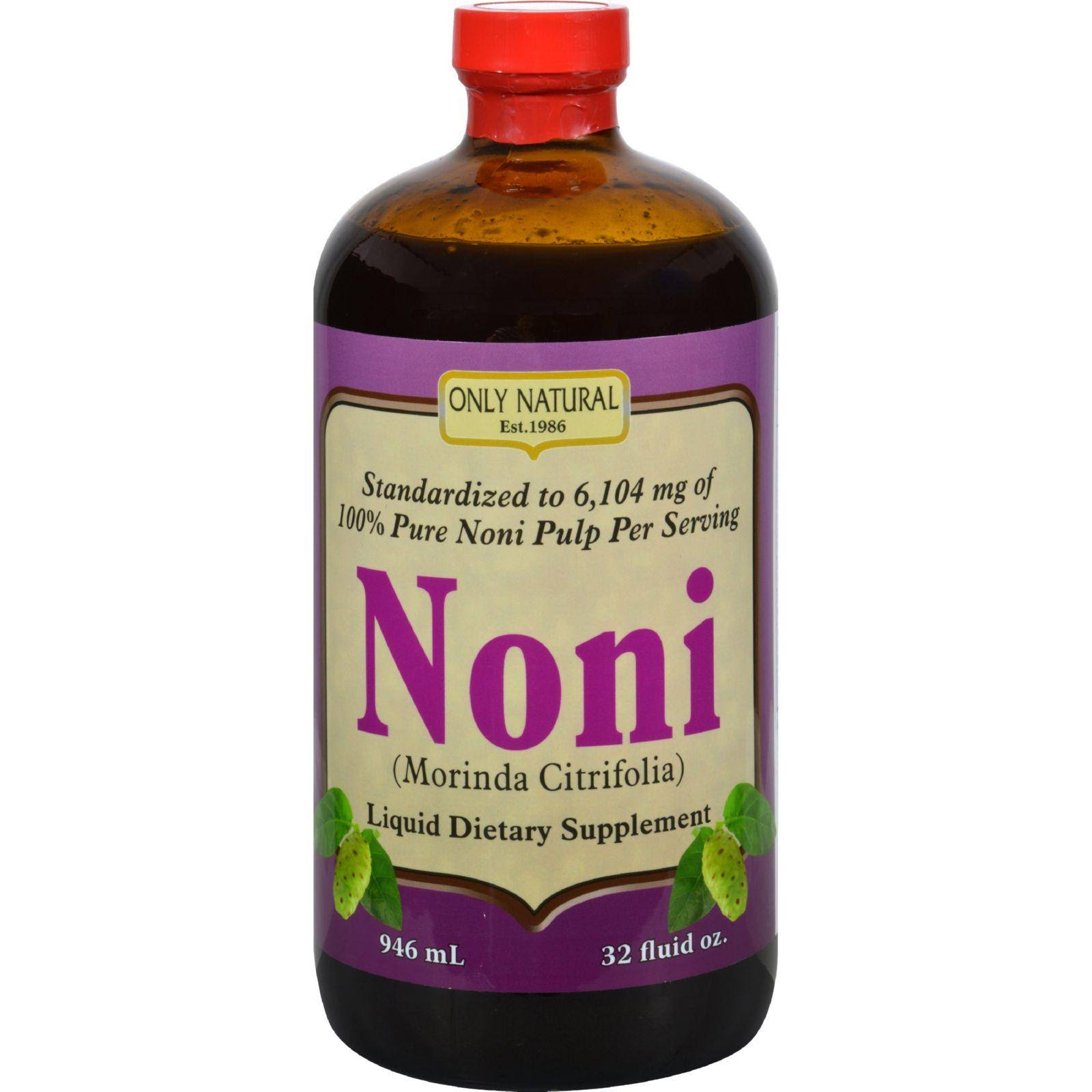 Only Natural Noni Liquid Dietary Supplement - 945ml