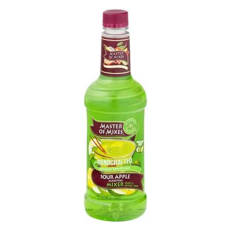 Master of Mixes Martini Mixer - Sour Apple, 1l