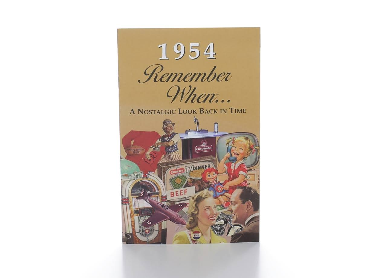 1954 Remember When Kardlet (RW1954) 65th Gift