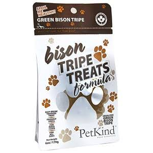 Petkind Green Bison Tripe Treats - 6oz