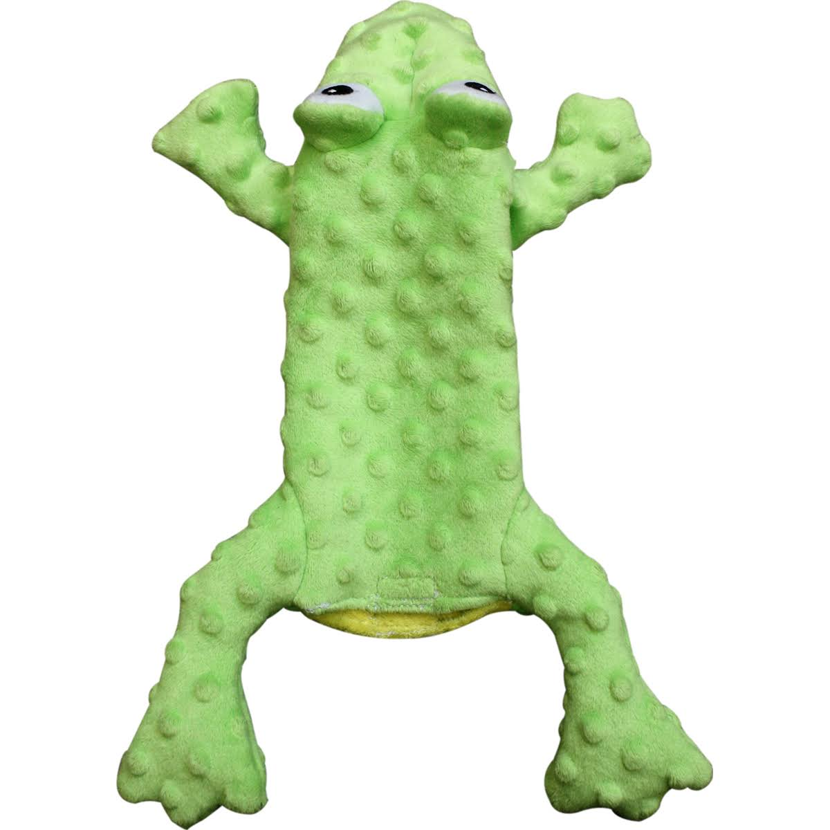 "Ethical Pets Skinneeez Extreme Stuffing Dog Toy - 14"", Frog"