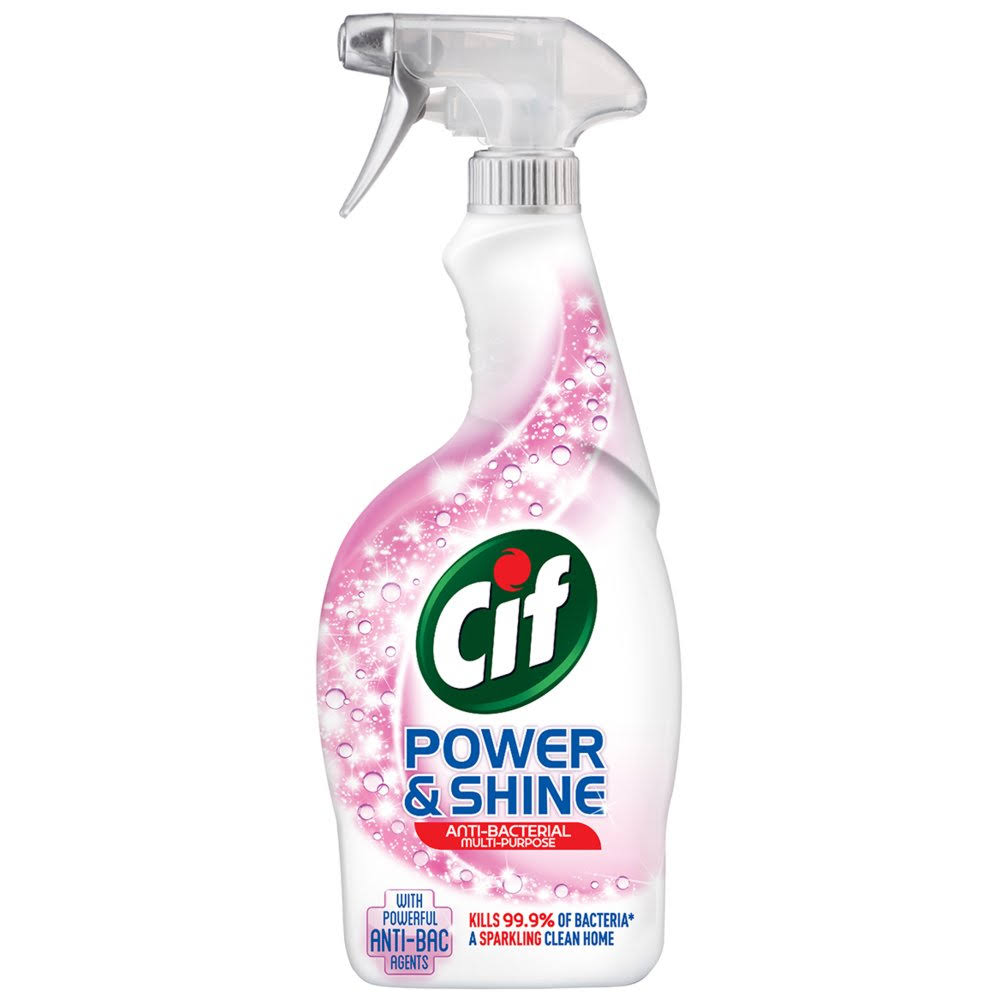 Cif Power and Shine Anti-bacterial Multi-Purpose Spray - 700ml