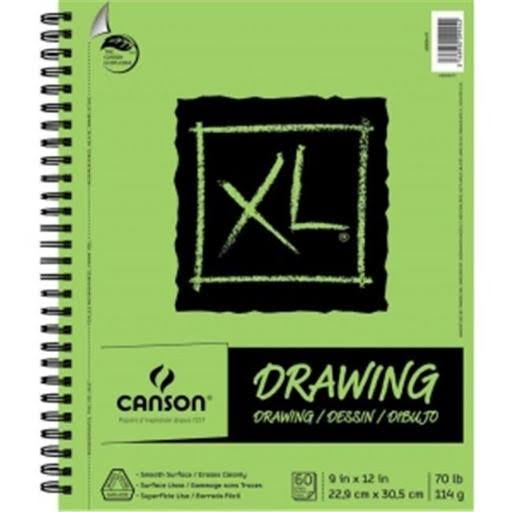 "Canson Drawing Pad - 60 Sheets, 9"" x 12"""