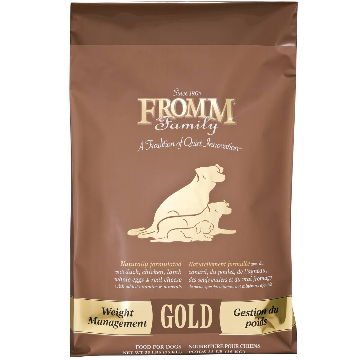 Fromm Weight Management Gold Dog Food - Dry, 33lbs