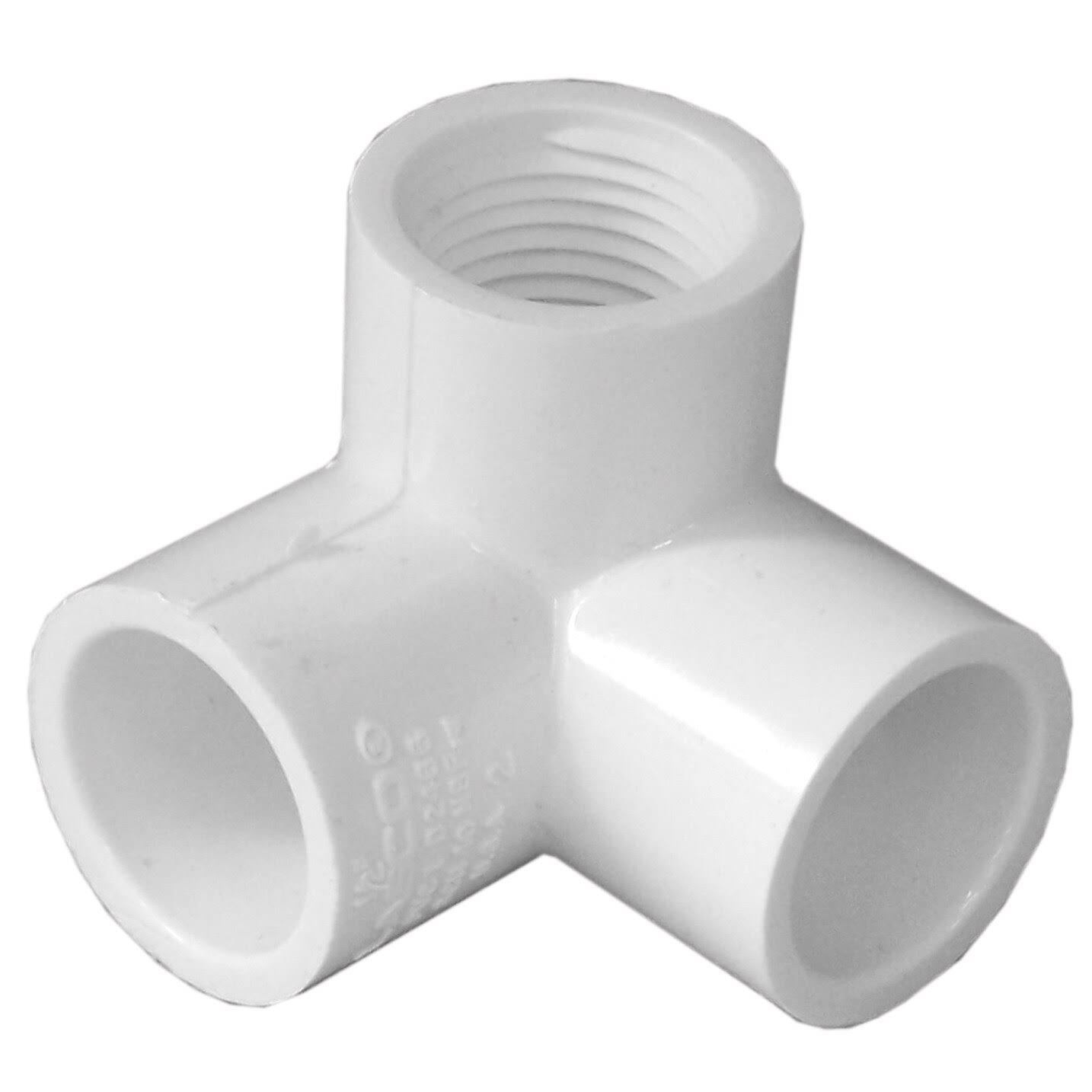 "Genova Products Pvc 90 degrees Elbow - with Female Side, 1/2"", 3ct"