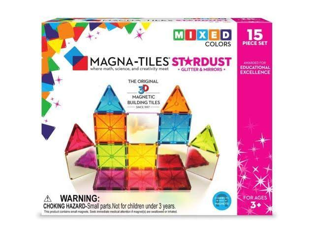 Magna Tiles Stardust 15 Piece Set