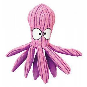 Kong 292576 Cuteseas Octopus Dog Toy - Large, Pink and Purple