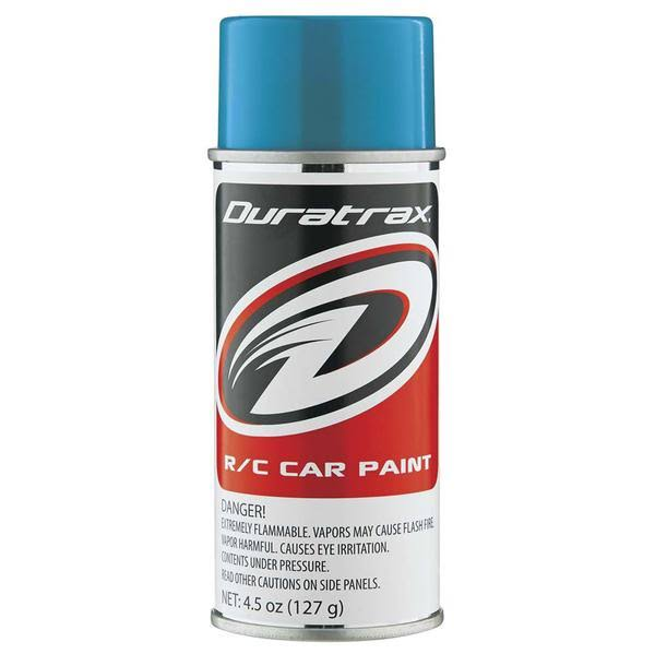 Duratrax Polycarbonate Radio Control Vehicle Body Spray Paint - Teal