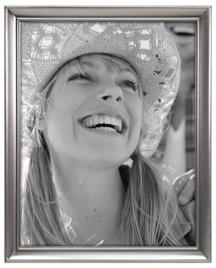 "Malden Concourse Pewter Metal Picture Frame - Silver, 8"" x 10"""