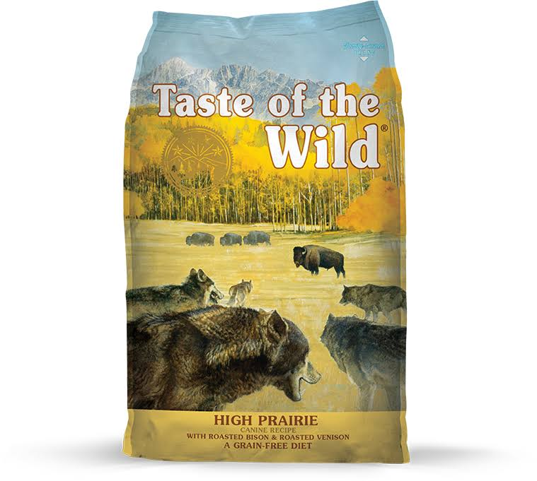 Taste of The Wild High Prairie Dry Dog Food - 28-lb