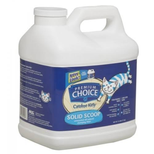 Premium Choice All Natural Unscented Scoopable Cat Litter - 16lb