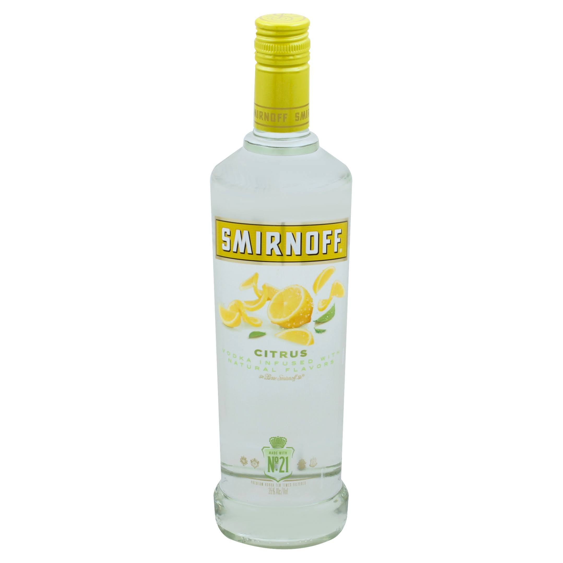 Smirnoff Vodka, Citrus - 750 ml