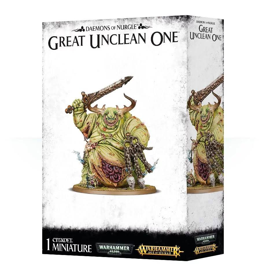 Warhammer 40K: Great Unclean One Miniature Set