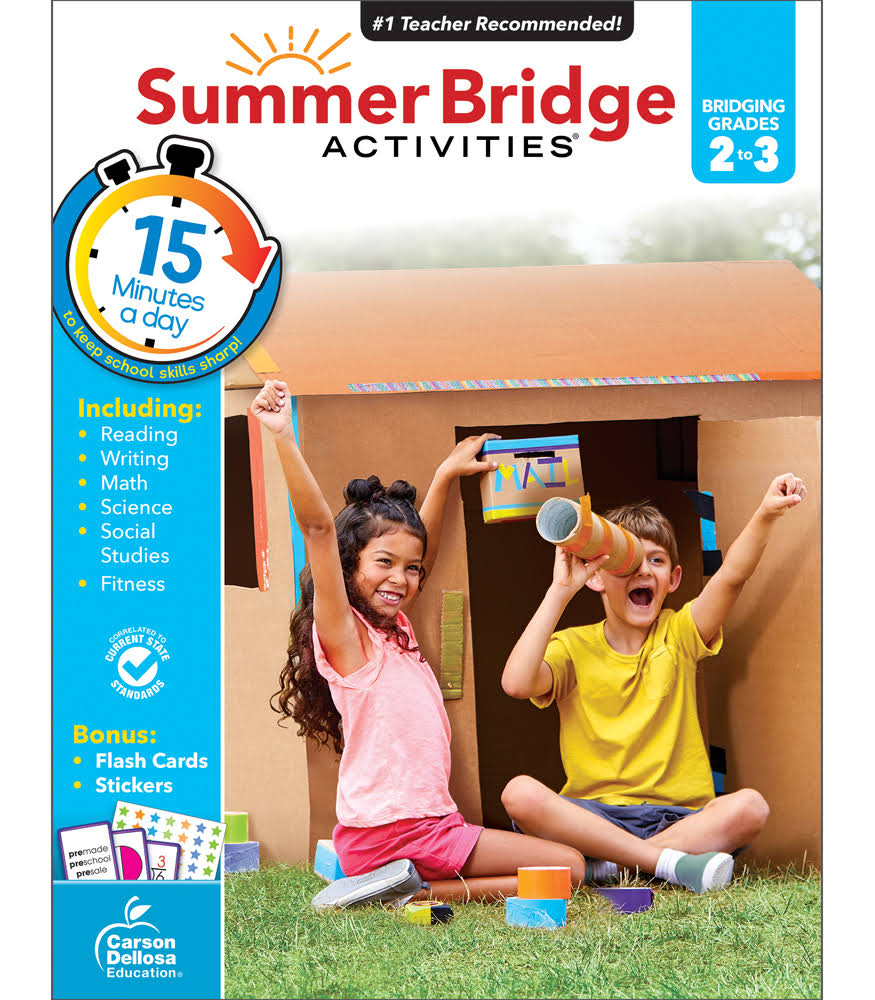 Summer Bridge Activities: Grades 2-3 - Carson-Dellosa