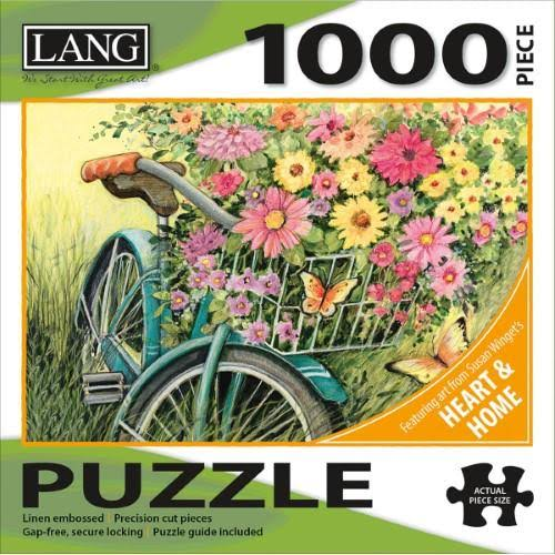 Lang Bicycle Bouquet Jigsaw Puzzle - 1000 Pieces