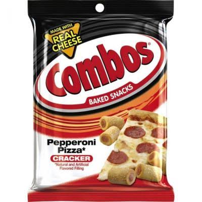 Combos Baked Snacks Pepperoni Pizza Cracker