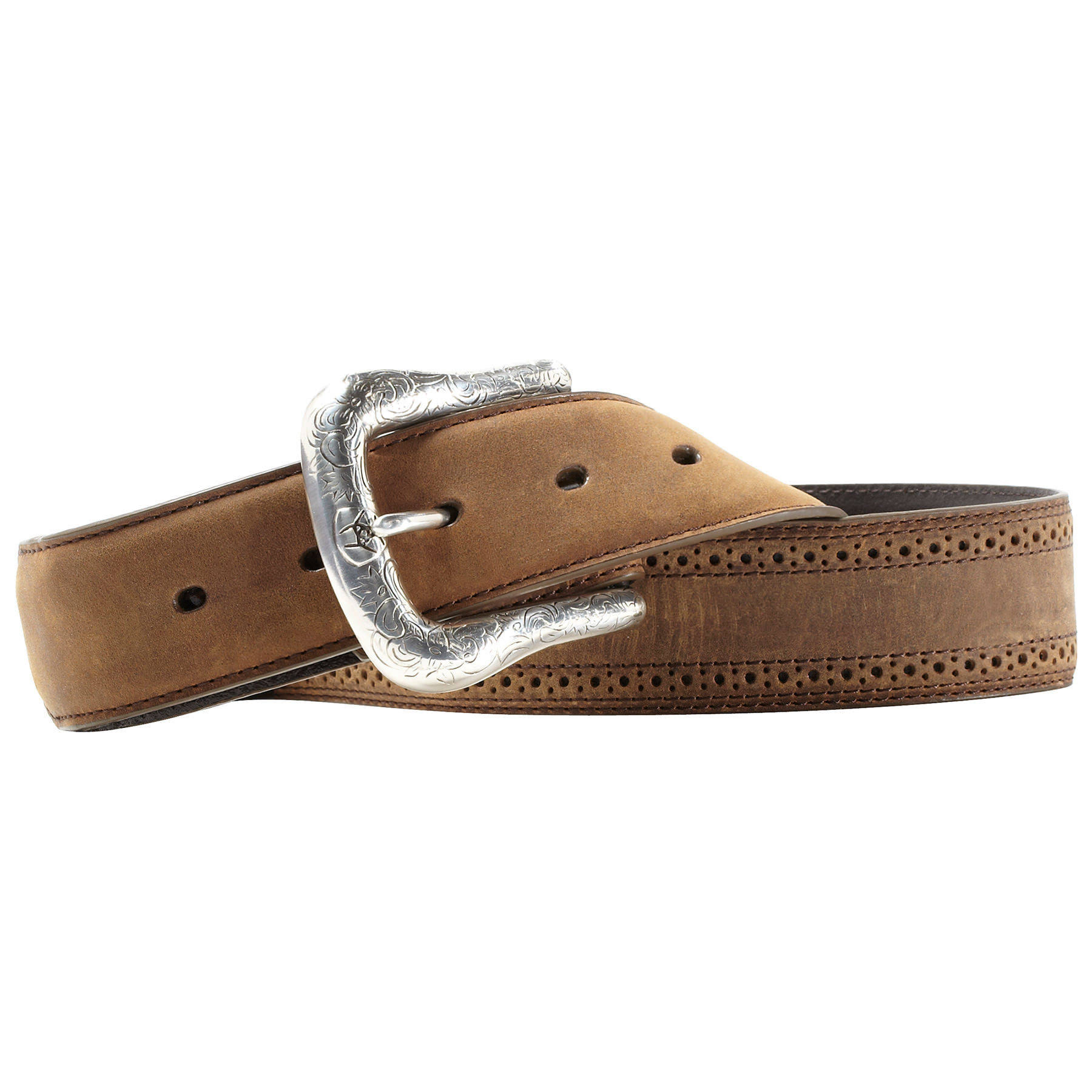 Ariat Men's Western Work Belt - Brown