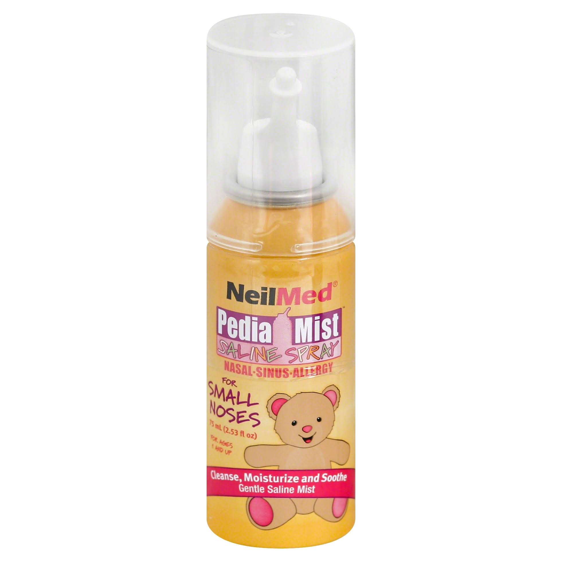 NeilMed Pediamist Pediatric Saline Spray - 2.53oz, 75mL, Kids