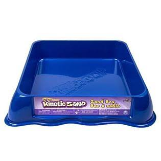 "Kinetic Sand Sand Tray - Blue, 12"" X 12"""